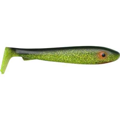 Svartzonker McRubber 21cm Black Chartreuse 2-pack