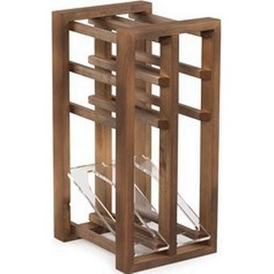 Traditional Wine Rack Bottle Display Unit Vinställ 535x250 mm