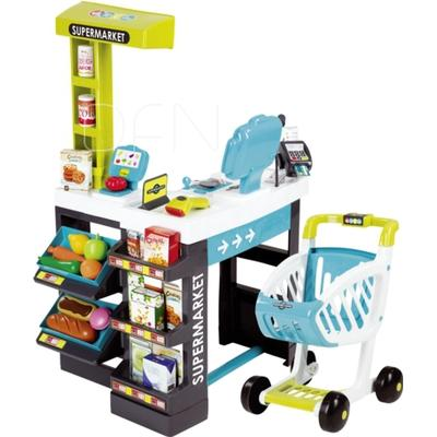 Smoby Supermarket Kids Shopping Centre with Trolley
