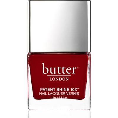 Butter London Patent Shine 10X Nail Lacquer Her Majesty's Red 11ml