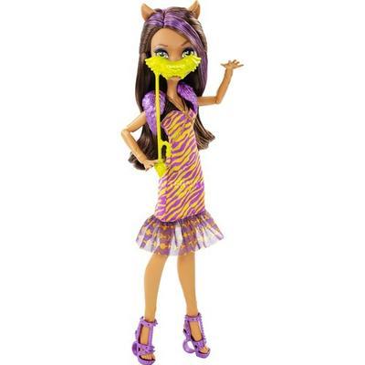 Mattel Monster High Dance the Fright Away Clawdeen Wolf Doll
