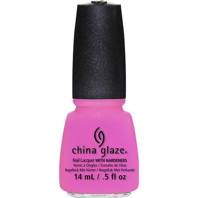 China Glaze Nail Lacquer Bottoms up 14ml