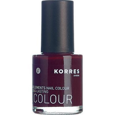 Korres Nail Colour #59 Dark Red 10ml