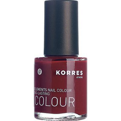 Korres Nail Colour #57 Deep Red 10ml