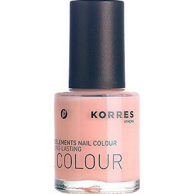 Korres Nail Colour #06 Pastel Rose 10ml