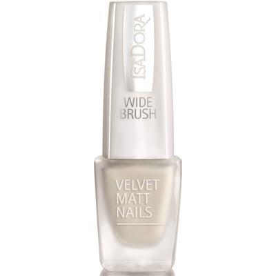 Isadora Velvet Matt Nails #826 White Velvet 6ml