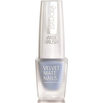Isadora Velvet Matt Nails #830 Blue Cloud 6ml
