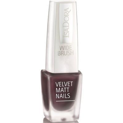 Isadora Velvet Matte Nails #824 Vintage Wine 6ml