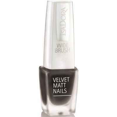 Isadora Velvet Matte Nails #825 Black Caviar 6ml