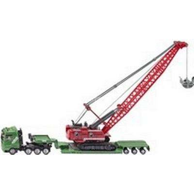 Siku Heavy Haulage Transporter with Cable Excavator & Service 1834