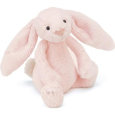 Jellycat Bashful Pink Bunny Rattle 18cm