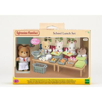 Sylvanian Families School Lunch Set