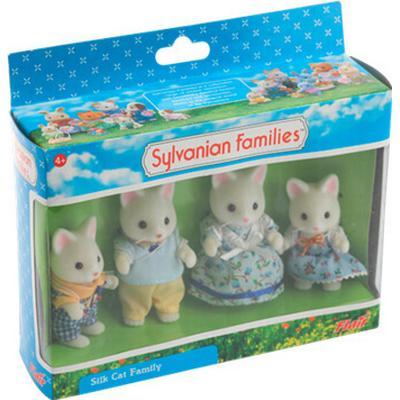 Sylvanian Families Golightly Silk Cat Family