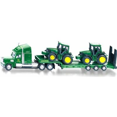 Siku Low Loader with John Deere Tractors 1837