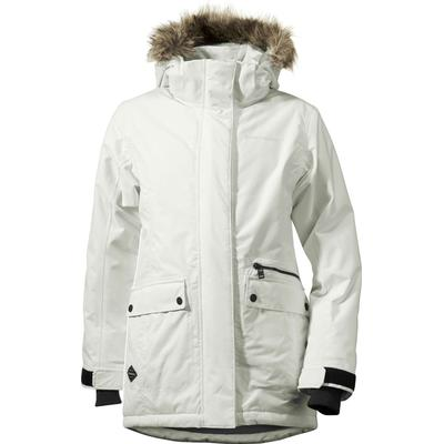 Didriksons Zoe Girls Parka - Snow White (162501037027)