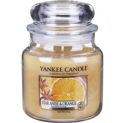 Yankee Candle Star Anise & Orange 411g Doftljus