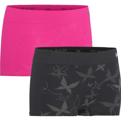 Kari Traa Butterfly Hipster Black/Pink 2-pack