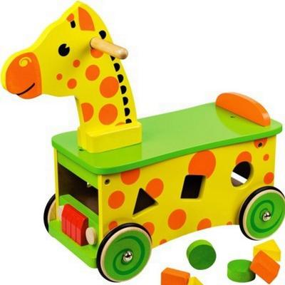 Bigjigs Giraffe Ride On