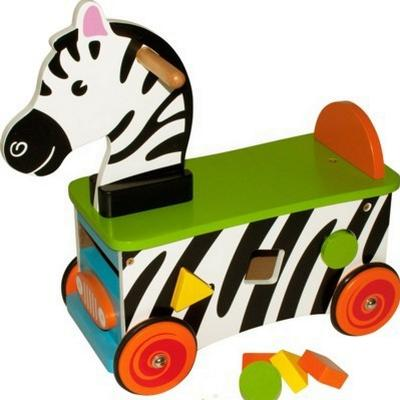 Bigjigs Zebra Ride On