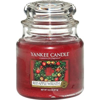 Yankee Candle Red Apple Wreath 411g Doftljus