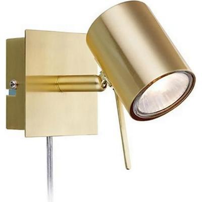 Markslöjd Hyssna Brass Vägglampa