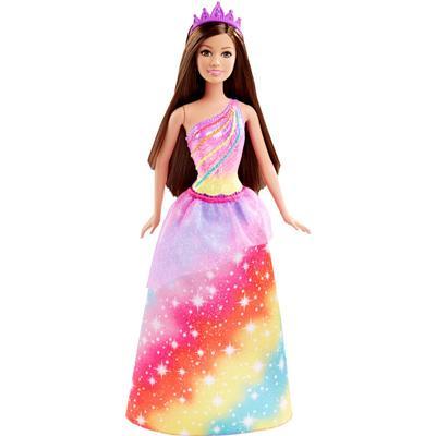 Mattel Barbie Princess Rainbow Doll