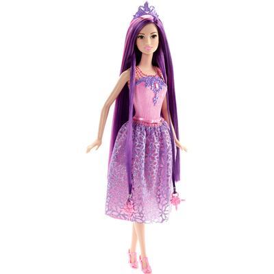 Mattel Barbie Endless Hair Kingdom Princess Purple Hair Doll