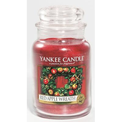 Yankee Candle Red Apple Wreath 623g Doftljus