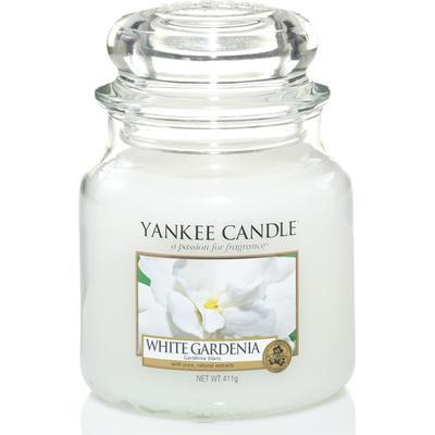 Yankee Candle White Gardenia 411g Doftljus