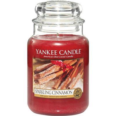 Yankee Candle Sparkling Cinnamon 623g Doftljus