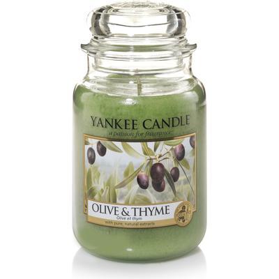 Yankee Candle Olive & Thyme 623g Doftljus
