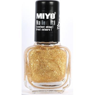 MIYO Nailed It Nagellack No 03 Guld