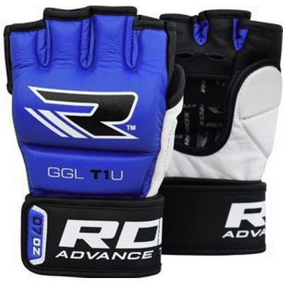 RDX Leather MMA Gloves