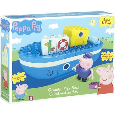 Peppa Pig Grandpa Pigs Boat Construction Set