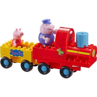 Peppa Pig Grandpa Pigs Train Construction Set