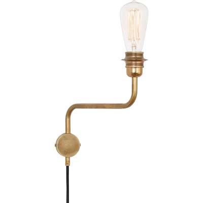 Konsthantverk 4404 Edison Vägglampa
