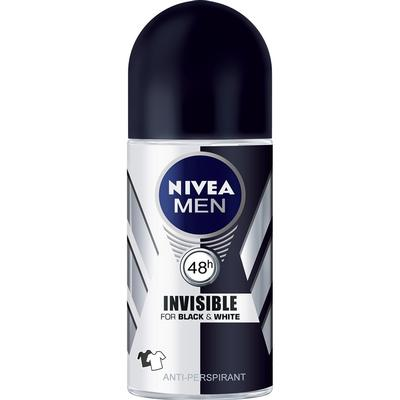 Nivea Men Invisible For Black & White Deo Roll-on 50ml