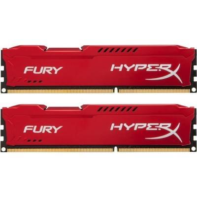 HyperX Fury Red DDR3 1600MHz 2x4GB (HX316C10FRK2/8)