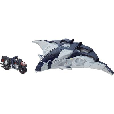 Hasbro Marvel Avengers Age of Ultron Cycle Blast Quinjet Vehicle B0425
