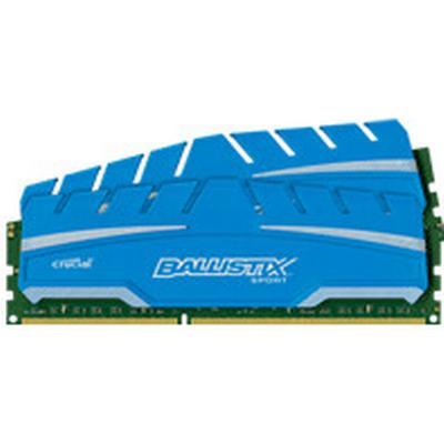 Crucial Ballistix Sport XT DDR3 1866MHz 2x4GB (BLS2C4G3D18ADS3CEU)