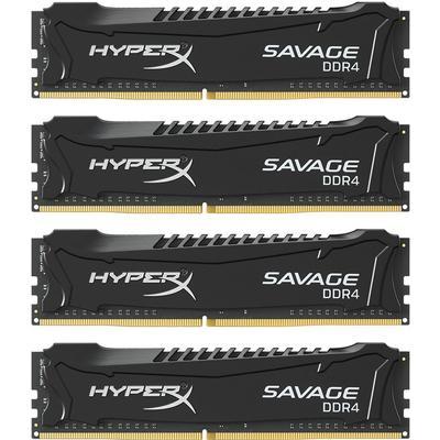 HyperX Savage Black DDR4 2400MHz 4x8GB (HX424C12SB2K4/32)