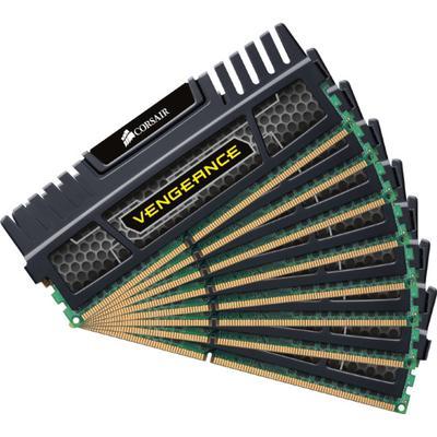 Corsair Vengeance Black DDR3 1600MHz 8x8GB (CMZ64GX3M8A1600C9)