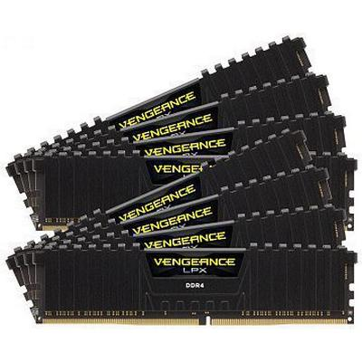 Corsair Vengeance LPX Black DDR4 2133MHz 8x8GB (CMK64GX4M8A2133C13)