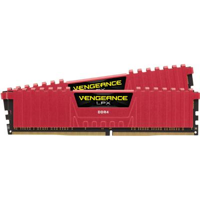 Corsair Vengeance LPX Red DDR4 2400MHz 2x8GB (CMK16GX4M2A2400C14R)