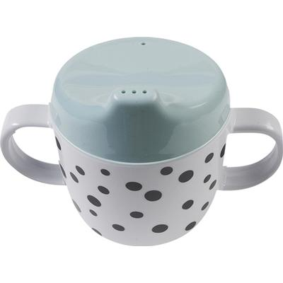 Done By Deer 2 Handle Spout Cup Happy Dots