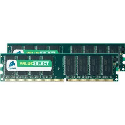 Corsair DDR 400MHz 2x1GB (VS2GBKIT400C3)