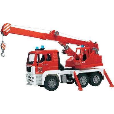 Bruder Man Fire Engine Crane Truck 02770