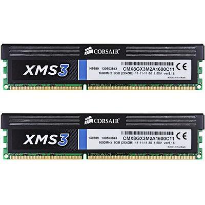 Corsair XMS3 DDR3 1600MHz 2x4GB (CMX8GX3M2A1600C11)