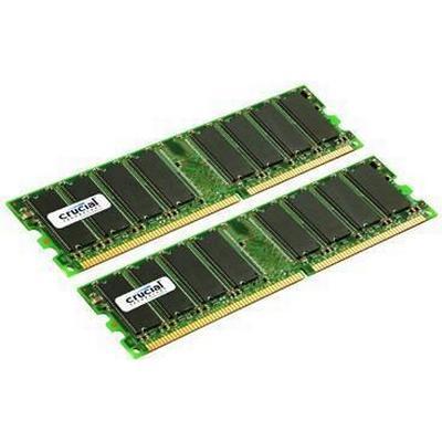 Crucial DDR 400MHz 2x1GB (CT2KIT12864Z40B)