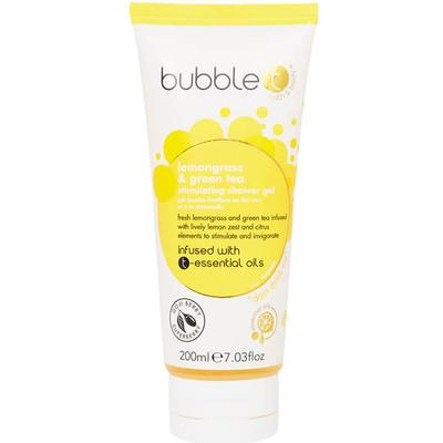 Bubble T Lemongrass & Green Tea Stimulating Shower Gel 200ml